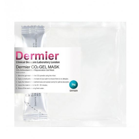 DERMIER Oxygen Co2 Gel Mask 注氧活膚面膜